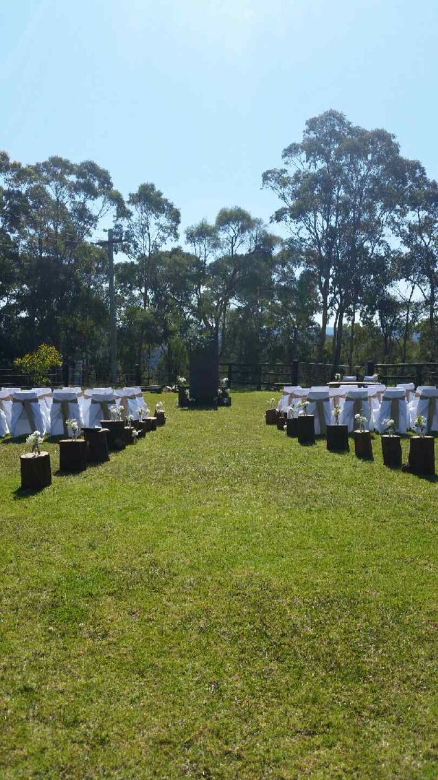 Rustic Ceremony at Tobruk Sheep Station by Flowermepretty.com.au