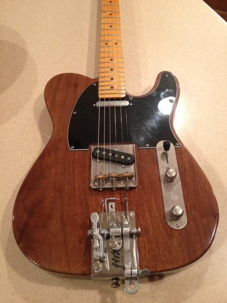 Fender Parts Tele / Partscaster 52 blackguard w Hipshot bender | Reverb