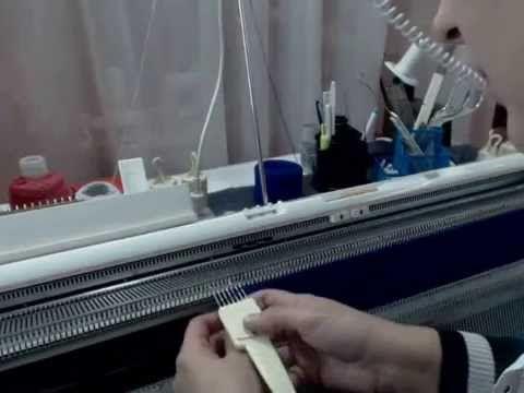 Мастер-класс: вязание платья на вязальной машине (спинка и перед) - Ярмарка Мастеров - ручная работа, handmade