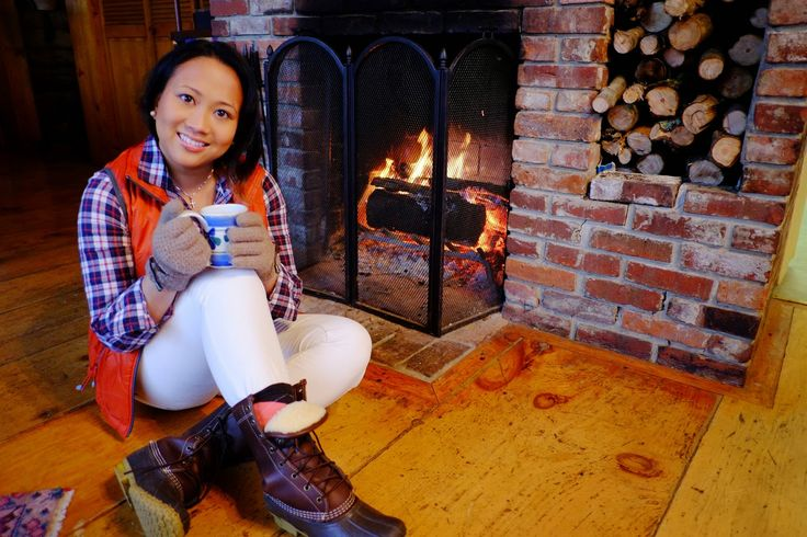 Mulled cider and LL BEAN by the fire! #llbean #winterfashion #gotboots?  http://chilloutbiscuit.blogspot.com/2014/11/mulled-cider-by-fire.html