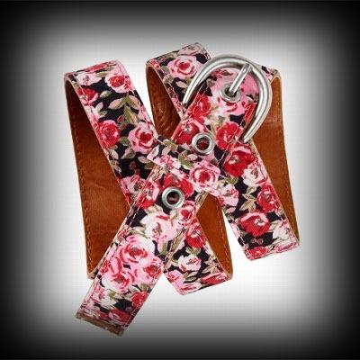 エアロポステール レディース ベルト Aeropostale Rose Print Skinny Belt レディース ベルト-アバクロ 通販 ショップ-【I.T.SHOP】 #ITShop