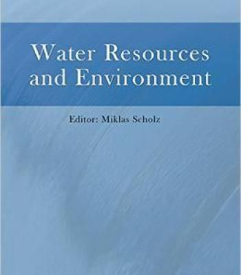 Water Resources And Environment PDF