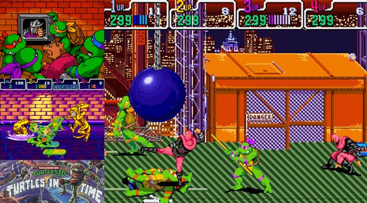 Totally Turtle Games – Turtles in Time. Fans and critics rated Turtles in Time as their favorite TMNT game. Improved graphics and special attacks makes this game a must play. Did you beat this? #TMNT #NinjaTurtles #TeenageMutantNinjaTurtles #TurtlesInTime