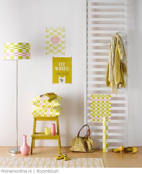 Roomblush behang en interieur