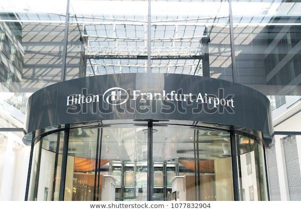 Frankfurt Germany April 24 View Of Hilton Frankfurt Airport Hotel On April 24 2018 En 2020 Frankfurt Alemania Europa Occidental