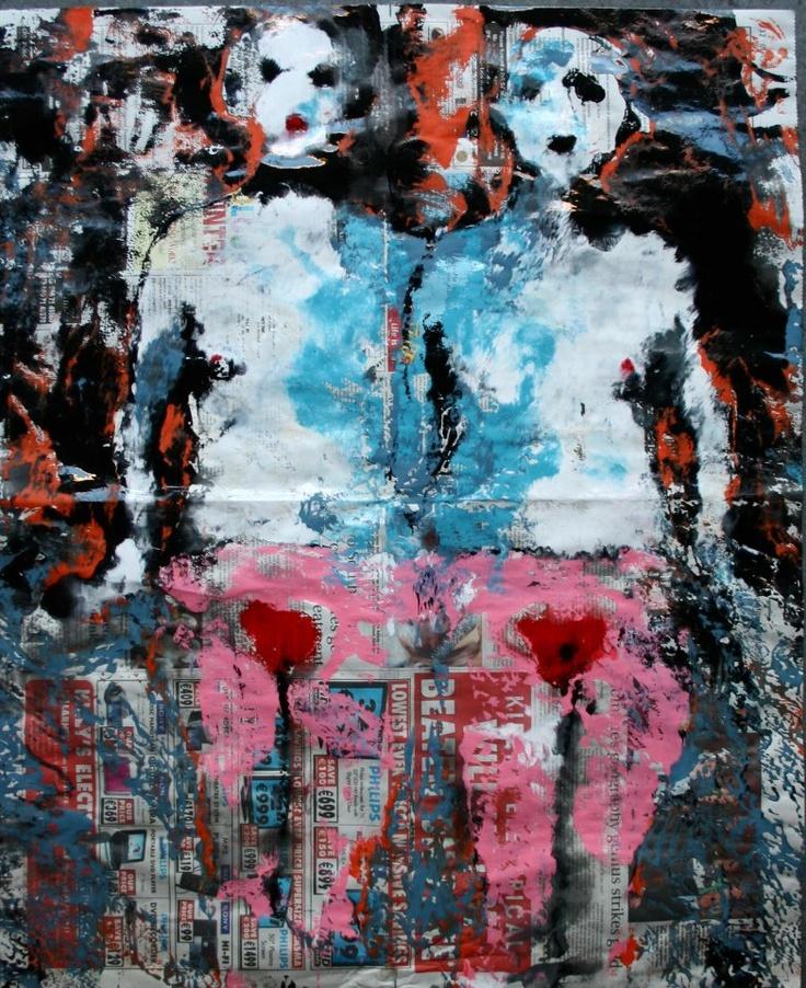Vagina Monologues, limited edition fine art print, 70x57 or 30x24cm, katarinartist@gmail.com
