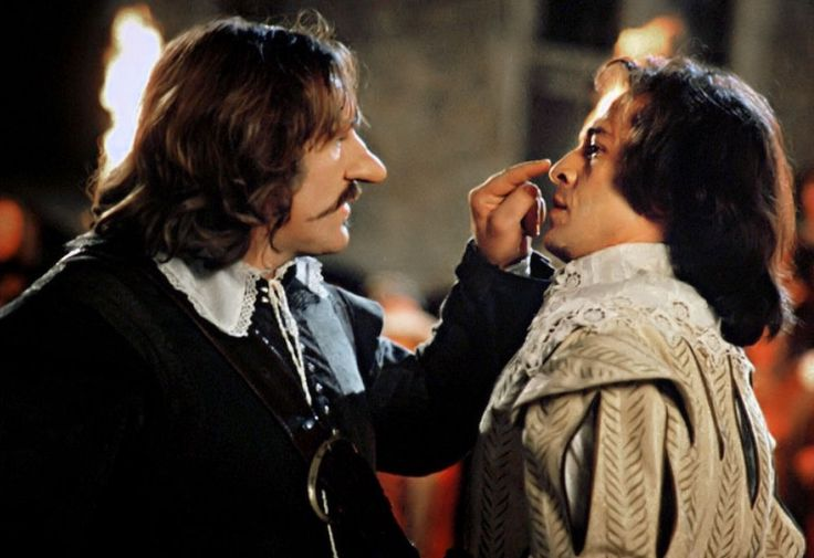 """A la fin de l'envoi, je touche."" - Cyrano de Bergerac (Jean-Paul Rappeneau, 1990)"