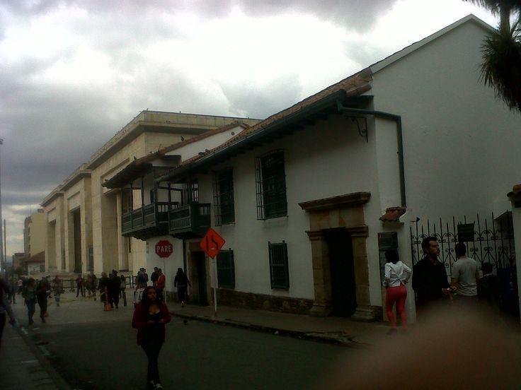 Museo de la Independencia, entrada principal, Bogotá.