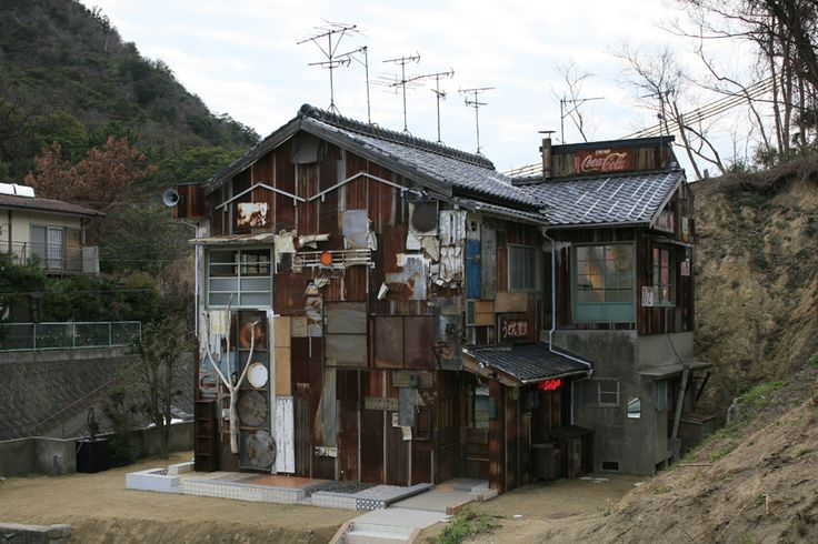 直島 家プロジェクト「はいしゃ」写真:渡邉修