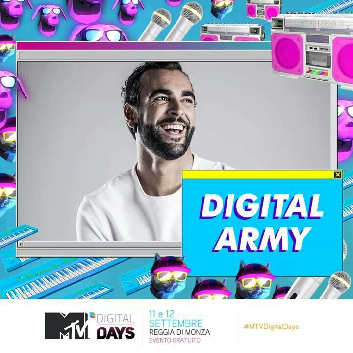 Marco Mengoni vince il Digital Army Award 2015