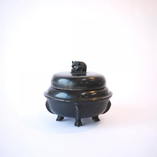 ミャンマー製漆器 象箱 SS | タイ工藝ムラカ