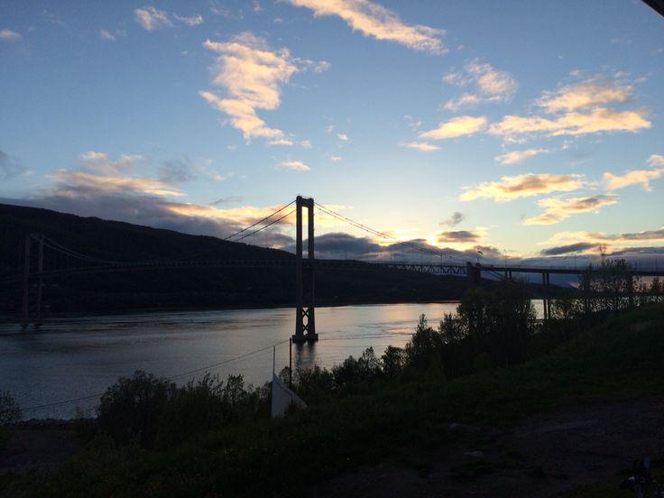 Tjeldsundsbrua in the very north of Norway.