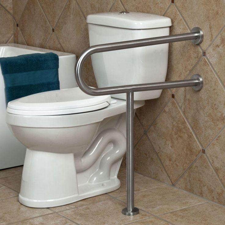 Best 25 grab bars ideas on pinterest ada bathroom - Handicap bars for bathroom toilet ...
