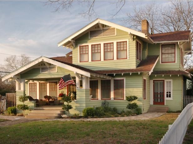 The 19th century Arts and Crafts Movement sparked the Craftsman and bungalow styles. Lean more about arts and crafts on HGTV.com.