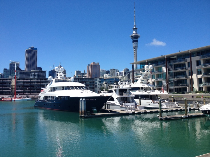 Auckland... the Monaco of the South Pacific