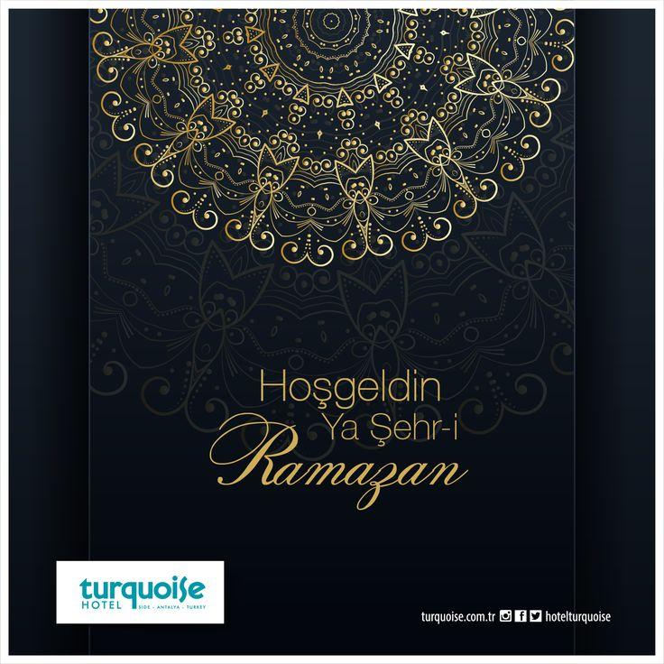 Hoşgeldin Ya Şehr-i RAMAZAN..
