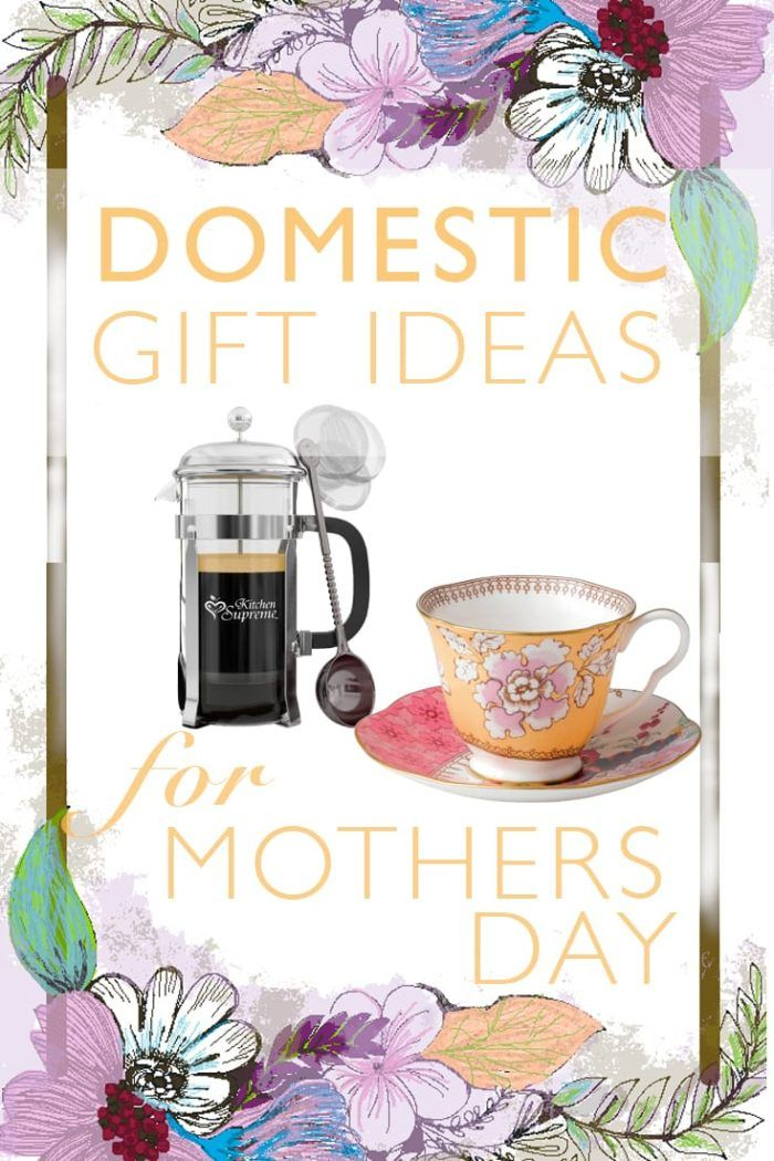 Mothers Day Gifts | Domestic Gift Ideas for Mother's Day | Gift ideas for the domestic mom | Click through for a great list of gift ideas and FREE wrapping paper :)