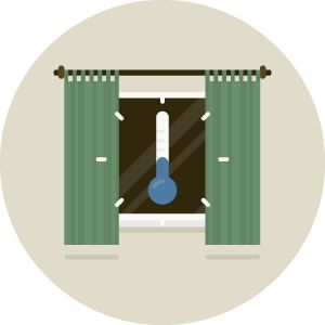 Feeling chilly? Not even a smart thermostat can keep winter air from leaking in during the winter. But thermal #drapes can. https://www.curtainandbathoutlet.com//home-furnishings-news/window-treatments/benefits-of-thermal-drapes-in-a-home