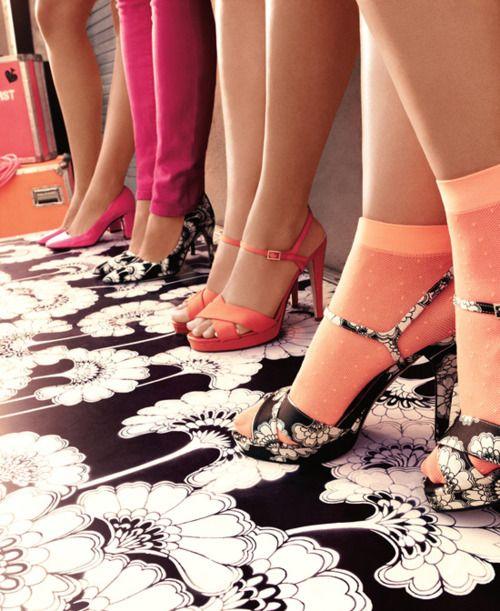 kate spade.: Sock, Shoes, Fashion, Style, Color, Florence Broadhurst, Kate Spade, Spring 2012, Katespade