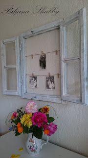 Biljana Shabby: Decorate with old windows