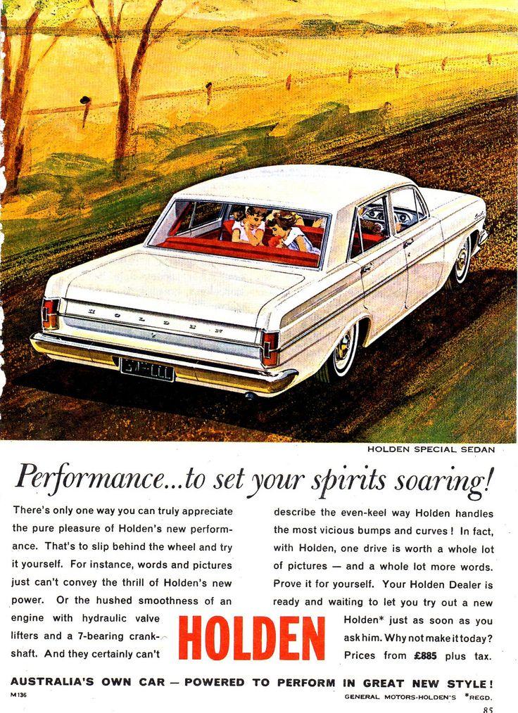 https://flic.kr/p/Q5TxHA | 1964 EH Holden Special Aussie Original Magazine Advertisement