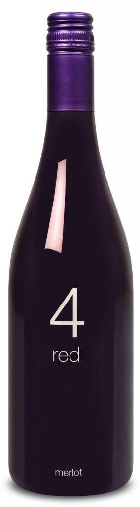 € 5,99 per fles, afname per 6 flessen - 94Wines #4 Red Gentle, Geen 18, geen alcohol