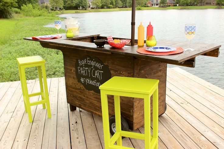 Rogue Engineer builds an awesome RYOBI Nation Party Station