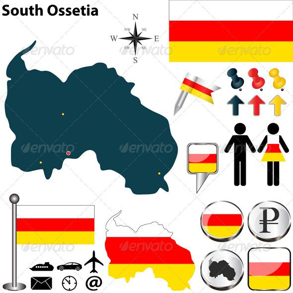 Más De Ideas Increíbles Sobre South Ossetia En Pinterest - South ossetia map