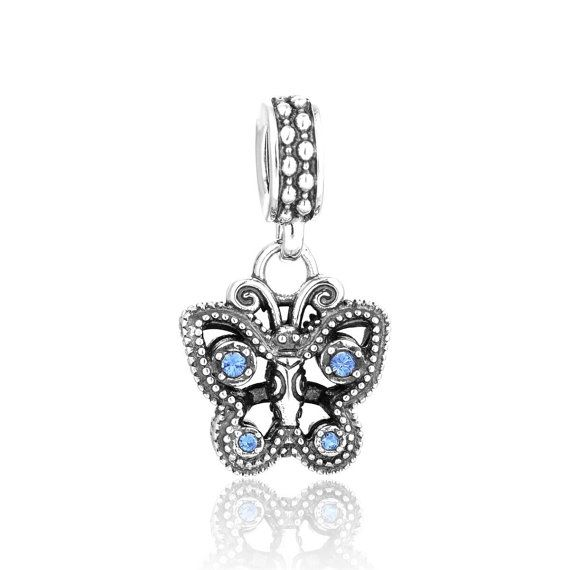 Description:    Celebrate any occasion with this sparkling butterfly charm. Perfect gift for your friends, family or just someone you love. Silver charms offer wide range of Silver charms and beads for any occasion. All charms and beads are made from real .925 Sterling silver and stamped with S925 for authenticity.     Promotions/offers:    We offer discounts if you buy more than one item from us .  Write this coupon codes  at checkout :  TWOITEMS- to receive 10% discount from your total…