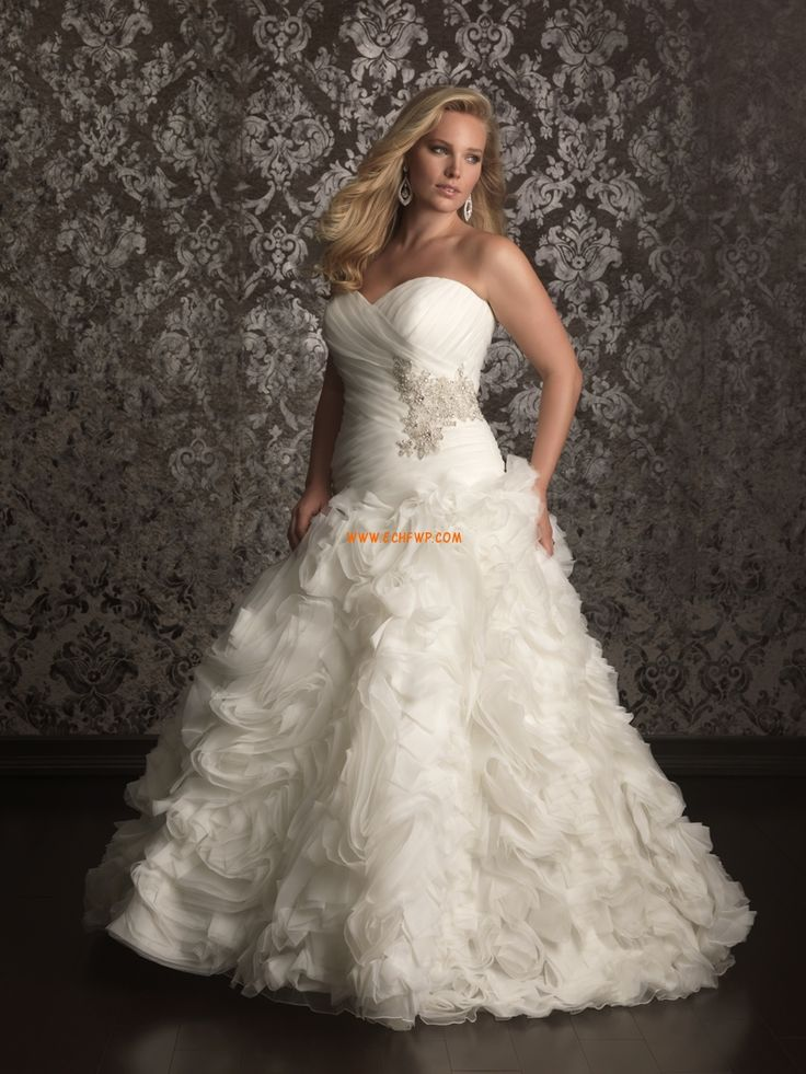 Princess Court Train Zipper Wedding Dresses 2013