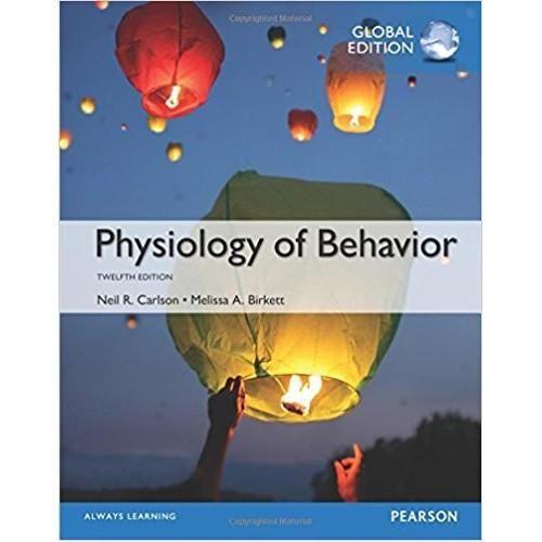 Physiology Of Behavior 12th Global Edition EBook PDF