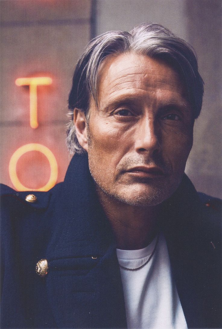 "starkaryen: "" Mads in the Euroman's November issue [Original scanned picture] "" Beautiful photo!"