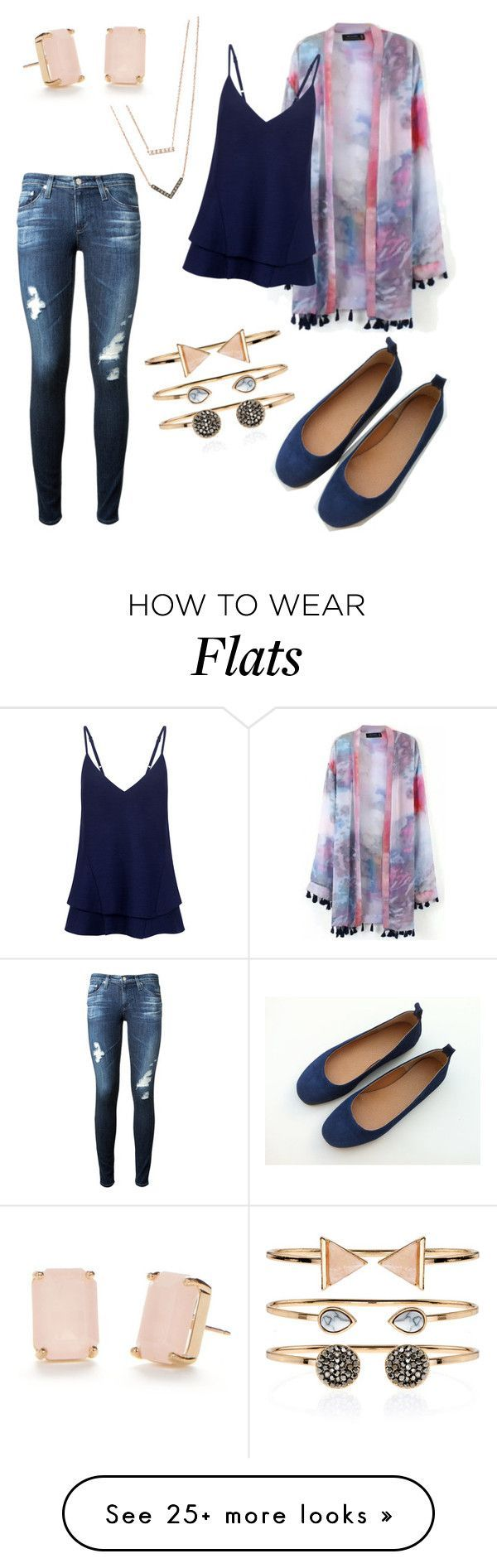 """""""Dreams"""" by lyricalbuddha on Polyvore featuring Michael Kors, C/MEO COLLECTIVE, AG Adriano Goldschmied, Accessorize and Kate Spade"""