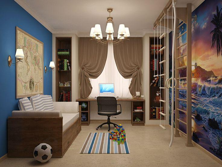 Дизайн детской комнаты для мальчика, 5 практических советов по дизайну комнаты для мальчика,