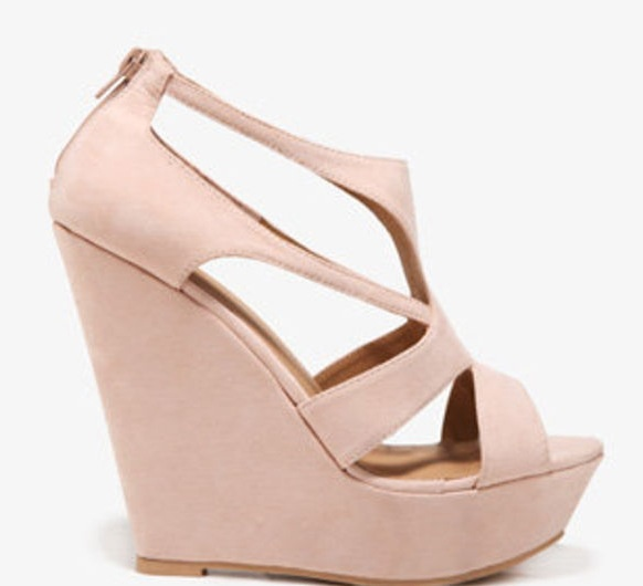 light pink wedge heels graduation pink