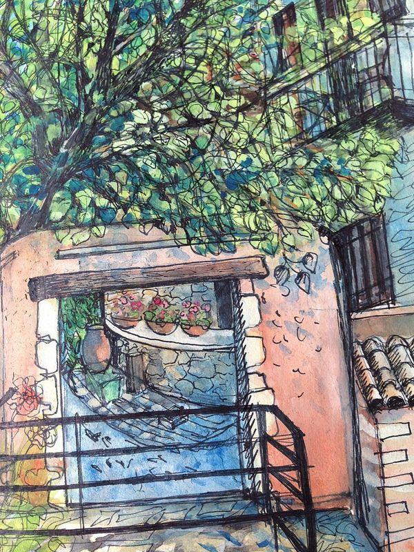 Our gate, Vamos, Crete
