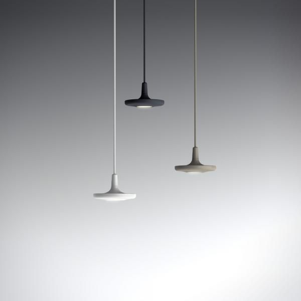 Button led suspension light by francesc rife for estiluz