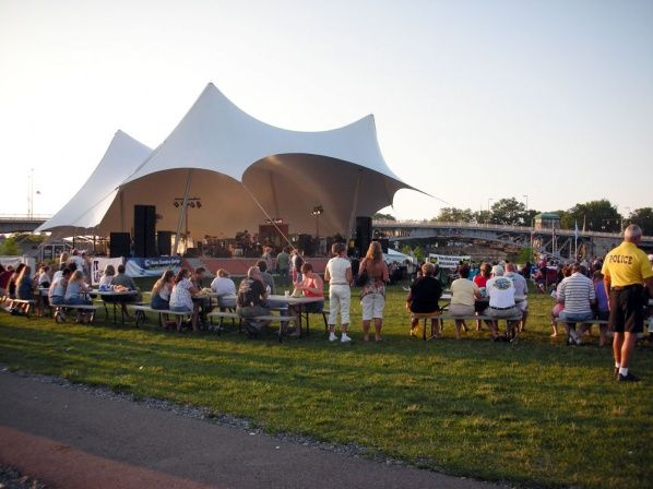 Bandshells | Concert Tent | Stage Tent | Theatre Tents | Anchor Inc