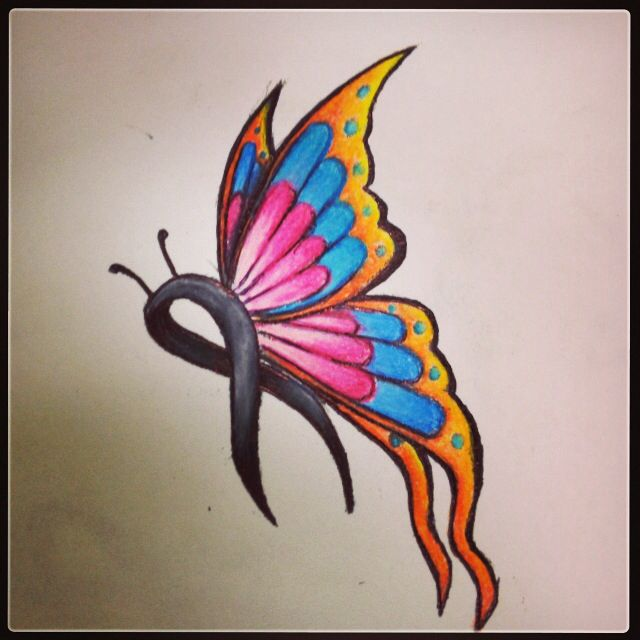 16 Cancer Ribbon Tattoos Designs Ideas To Give Support To The