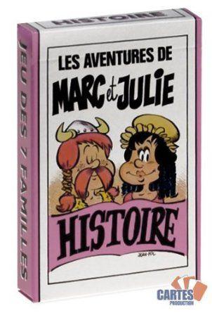Jeu de 42 cartes : 7 familles Marc et Julie : Histoire: Amazon.fr: Jeux et Jouets