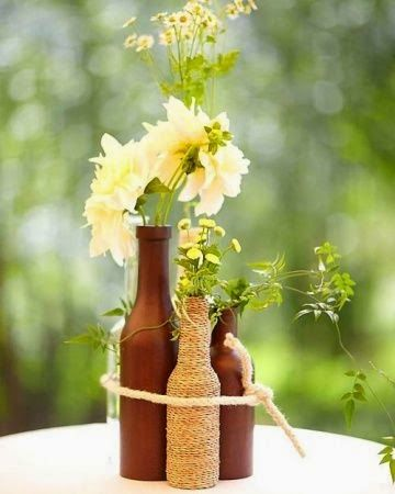Φτιάξε μόνη σου υπέροχες και άκρως καλοκαιρινές διακοσμητικές κατασκευές με μπουκάλια. DIY - Daddy-Cool.gr