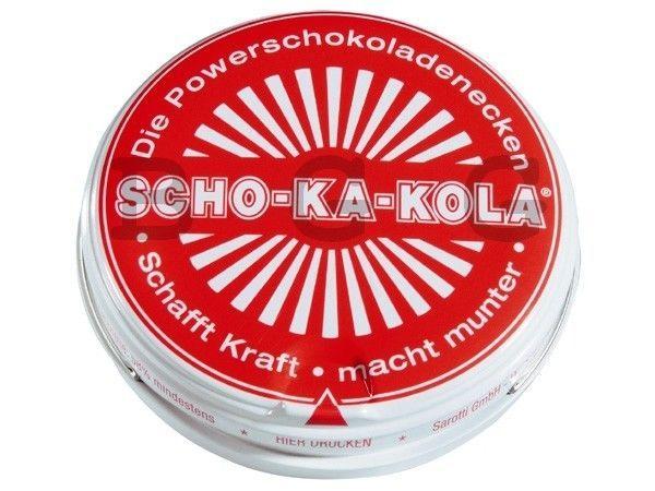 3 X Scho-Ka-Kola ( Schokakola ) Caffein Chocolate - 3 X 100 Gr Can - Germany