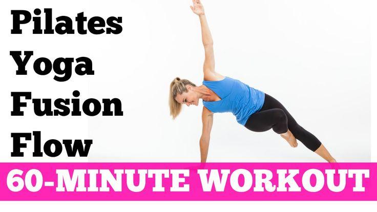 Esta rotina de 60 minutos, de baixo impacto, uma combinação do Pilates, Ioga e Dança, ideal para tonificar todos os músculos do corpo e queimar calorias.