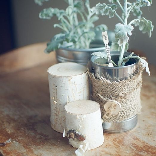 New wives club 24 make rustic plant labels from bamboo for Canape forks