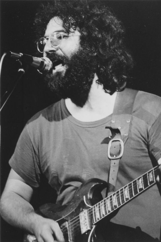 Jerry Garcia of The Grateful Dead- Born: August 1, 1942, San Francisco, CA Died: August 9, 1995, Forest Knolls, Marin County, California, CA Cause of death: heart attack