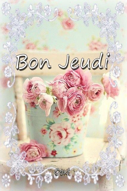 Bonjour Et Bon Jeudi Bon Caf 233 Et Bonne Journ 233 E