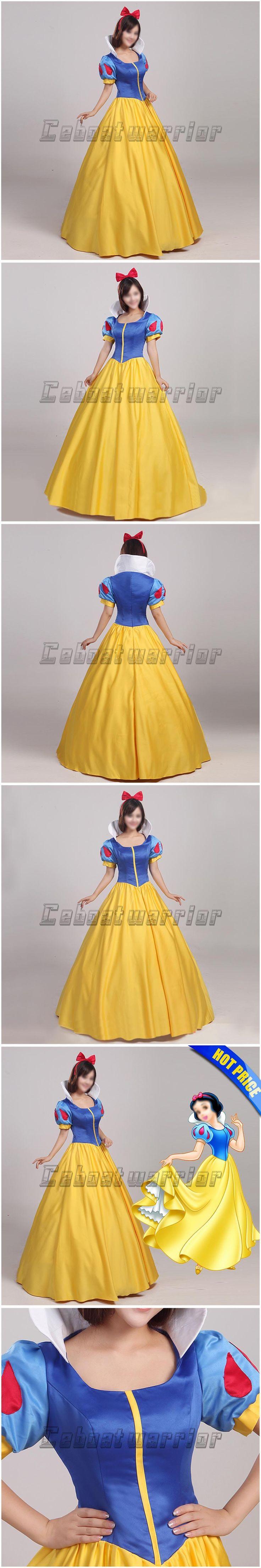 Snow White costume adult Princess snow white cosplay dress headband Custom made