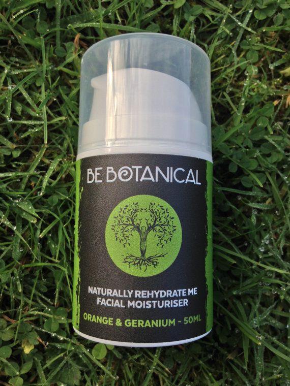 Orange & Geranium Be Botanical Naturally Rehydrate Me Facial