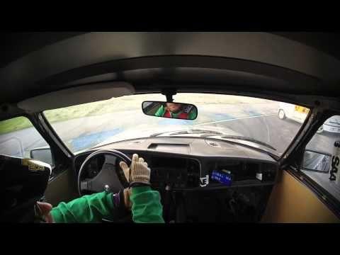 24h de Braga 2014 - Accidente Alfa 75 + Renault Clio