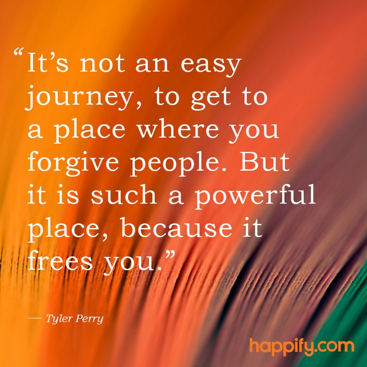 """It's not an easy journey, to get to a place where you forgive people. But it is such a powerful place, because it frees you."" Tyle Perry explains the immeasurable benefits of forgiveness. 